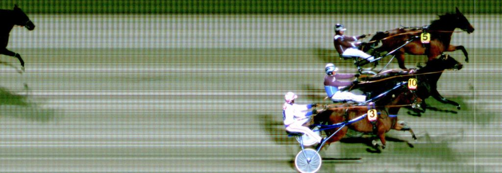 5 Unblemished Record / Kai Johansen vinner foran 10 Revenue Endurance / Frode Hamre og 3 Ideal Yankee / Hans Jørgen Eggen